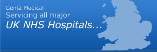 Deliveries for UK NHS Hospitals